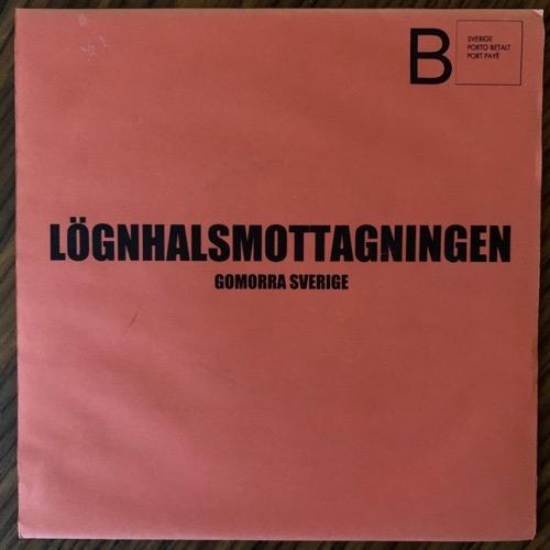 "LÖGNHALSMOTTAGNINGEN Gomorra Sverige (Ken Rock - Sweden original) (SS/EX) 7"""