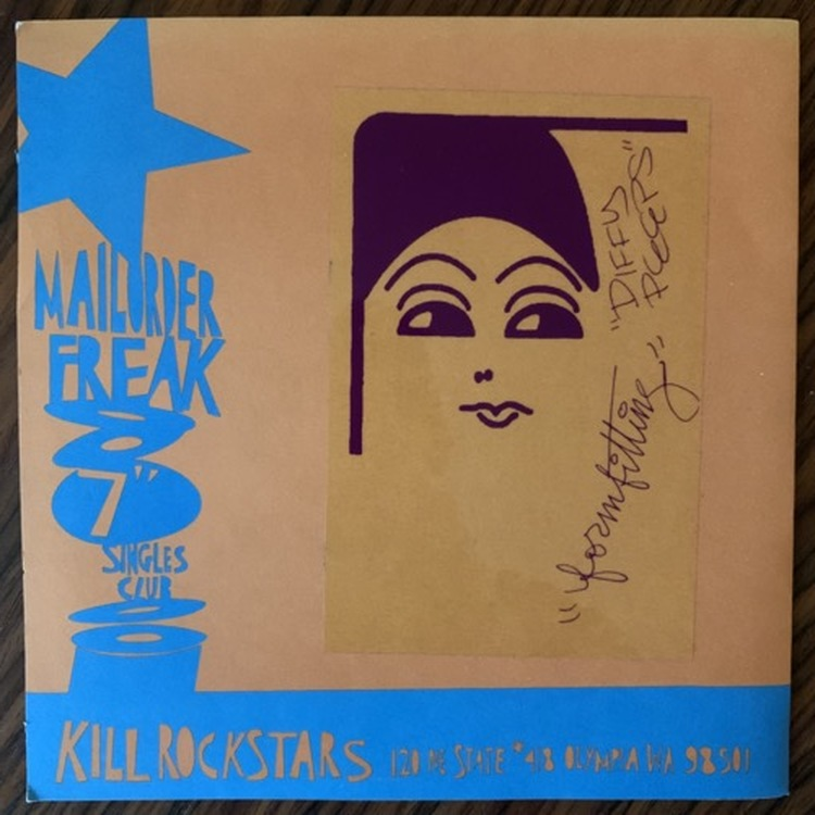 STA-PREST Formfitting (Kill Rock Stars - USA original) (VG+/EX) 7""