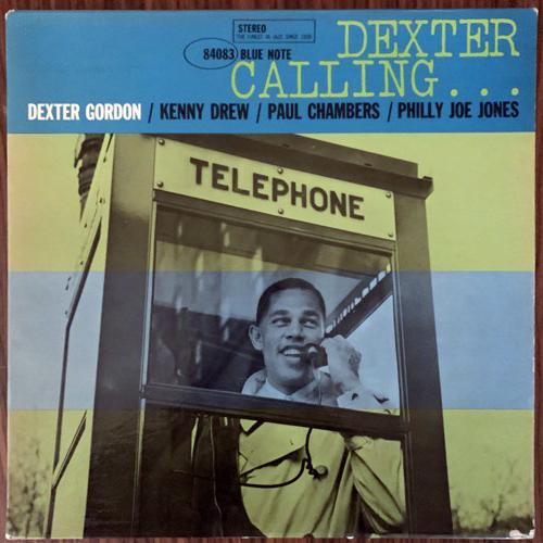 DEXTER GORDON Dexter Calling... (Blue Note - USA original) (VG+/VG-) LP