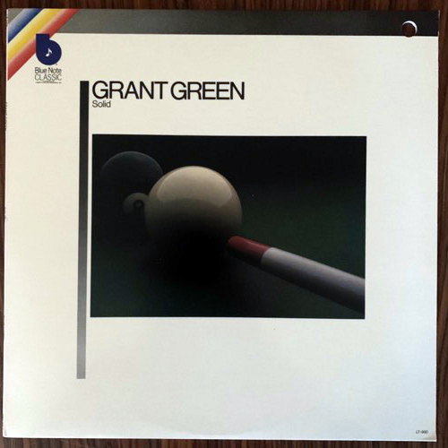 GRANT GREEN Solid (Blue Note - USA original) (VG+) LP