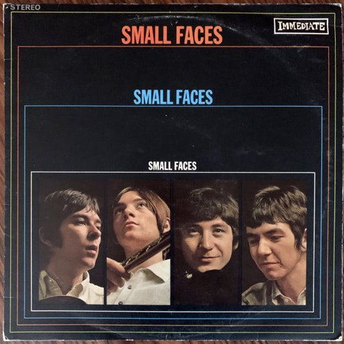 SMALL FACES Small Faces (Immediate - UK original) (VG) LP