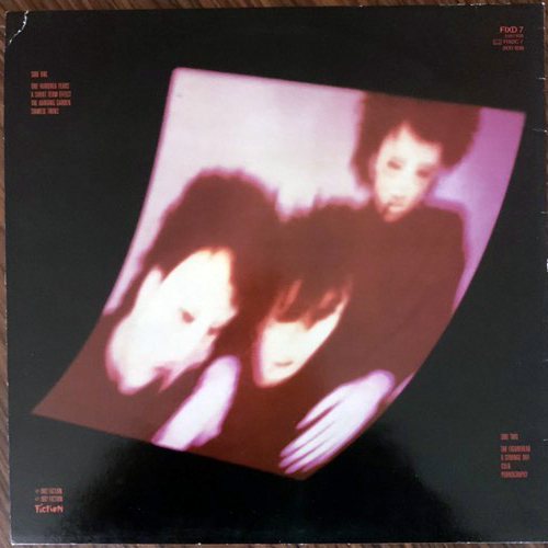 CURE, the Pornography (Fiction - UK 1986 reissue) (VG+/EX) LP