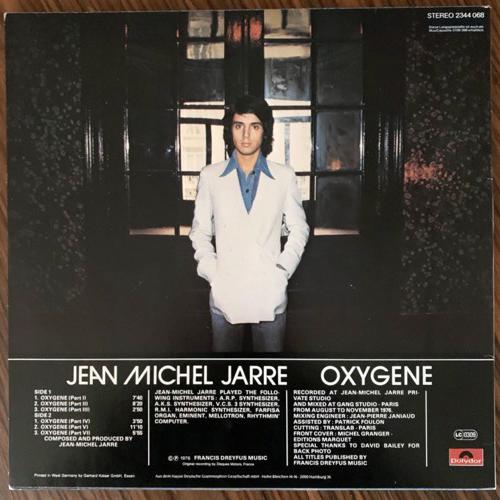 JEAN MICHEL JARRE Oxygene (Polydor - Germany original) (VG+) LP