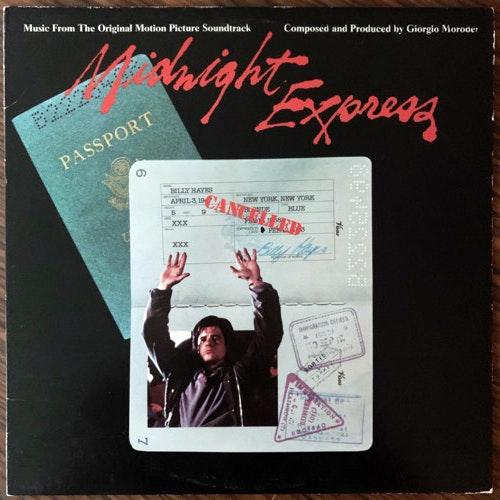 SOUNDTRACK Giorgio Moroder – Midnight Express (Casablanca - USA original) (VG+) LP