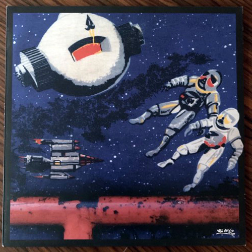 RAS G & THE AFRIKAN SPACE PROGRAM/SAMIYAM Los Angeles 3/10 (All City - Ireland original) (EX) 10""