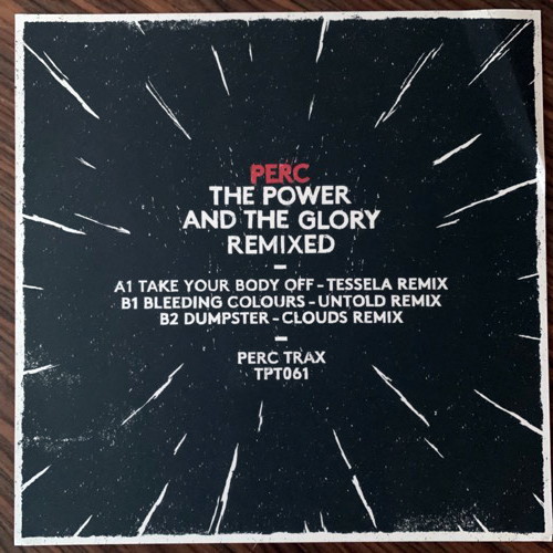 PERC The Power And The Glory Remixed (Perc Trax - UK original) (VG+) 12""
