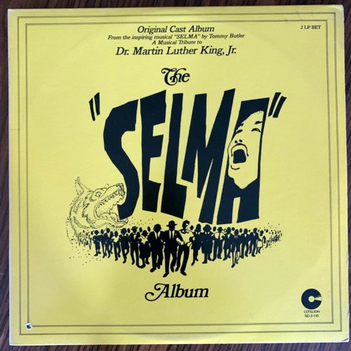 "SOUNDTRACK Various ‎– The ""Selma"" Album (Cotillion - USA original) (VG+) 2LP"