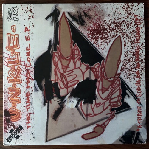 """UNKLE The Time Has Come E.P. - A Tribute To Sun Ra and All Things Fucked Up (Mo Wax - UK original) (VG+) 2x12"""""""