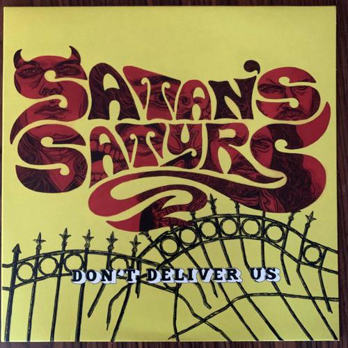 SATAN'S SATYRS Don't Deliver Us (Yellow vinyl) (Bad Omen - UK original) (EX) LP