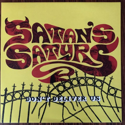 SATAN'S SATYRS Don't Deliver Us (Yellow vinyl) (Bad Omen - UK original) (EX) LP