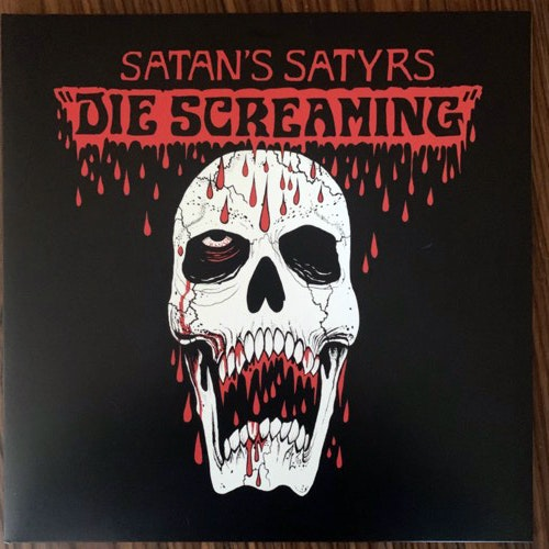 SATAN'S SATYRS Die Screaming (Bad Omen - UK original) (VG+/EX) LP