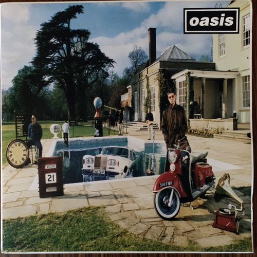 OASIS Be Here Now (Creation - UK original) (VG+/VG) 2LP