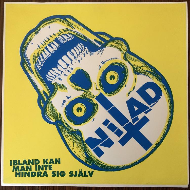 NITAD Ibland Kan Man Inte Hindra Sig Själv (Tour edition) (Deranged - Canada original) (EX) LP