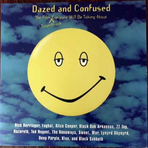 SOUNDTRACK Various ‎– Dazed And Confused (Green marbled vinyl) (Rhino - USA original) (EX/NM) 2LP