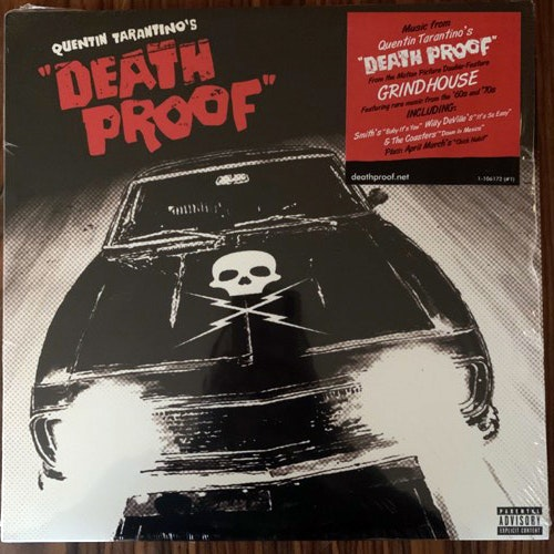 "SOUNDTRACK Various ‎– Quentin Tarantino's ""Death Proof"" (Splatter vinyl) (Warner - USA original) (NM/EX) LP"