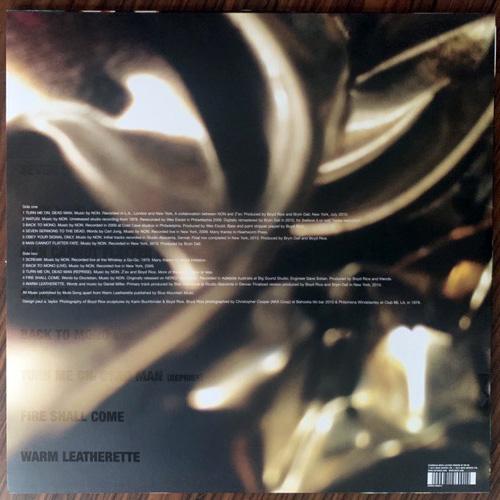 NON/BOYD RICE Back To Mono (White vinyl) (Mute - UK original) (EX/NM) LP+CD