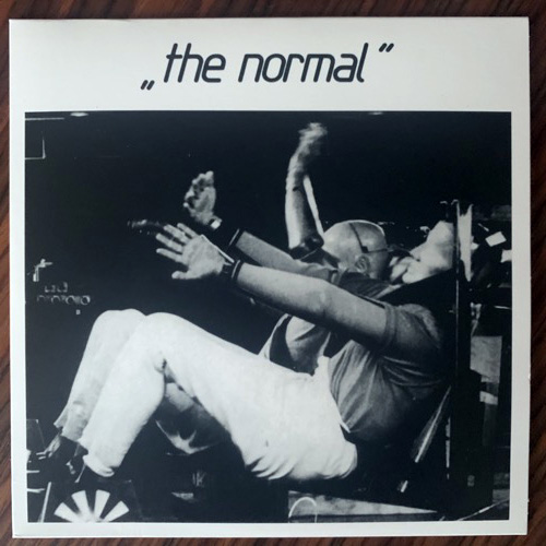 """NORMAL, the T.V.O.D./Warm Leatherette (Clear vinyl) (Mute - UK 2018 reissue) (NM) 7"""""""