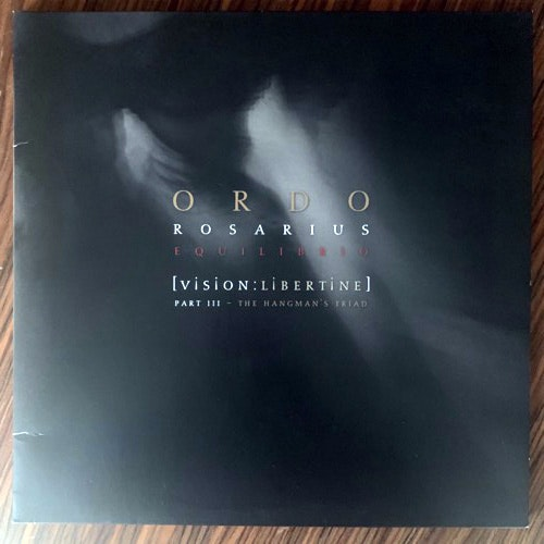 ORDO ROSARIUS EQUILIBRIO [Vision:Libertine] Part III - The Hangman's Triad (Black, red vinyl) (Out of Line - Germany original) (VG+/EX) 2LP