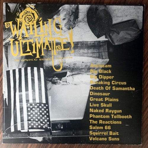 VARIOUS The Wailing Ultimate - The Homestead Records Compilation (Homestead - USA original) (VG+/EX) LP