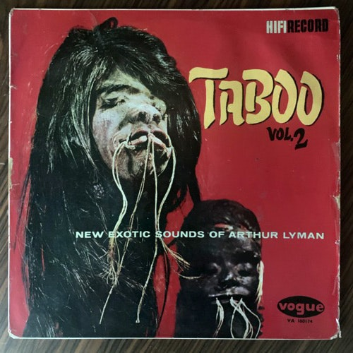 ARTHUR LYMAN Taboo Vol. 2 (Vogue - UK original) (VG-/VG+) LP