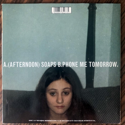 ARAB STRAP (Afternoon) Soaps (Chemikal Underground - UK original) (EX/VG+) 7""