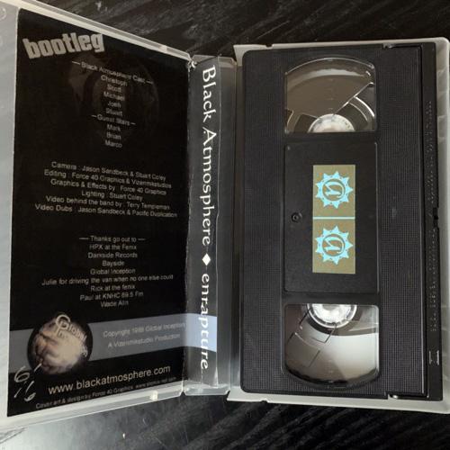 BLACK ATMOSPHERE Enrapture (Global Inception - USA original) (VG+) VHS