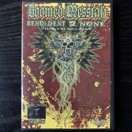 DOOMED MESSIAH Video Magazine (Doomed Messiah - USA original) (NM) DVD