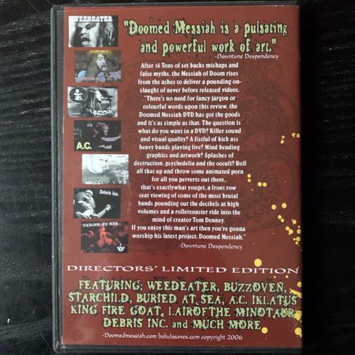 DOOMED MESSIAH Video Magazine (Doomed Messiah - USA original) (NM) DVD