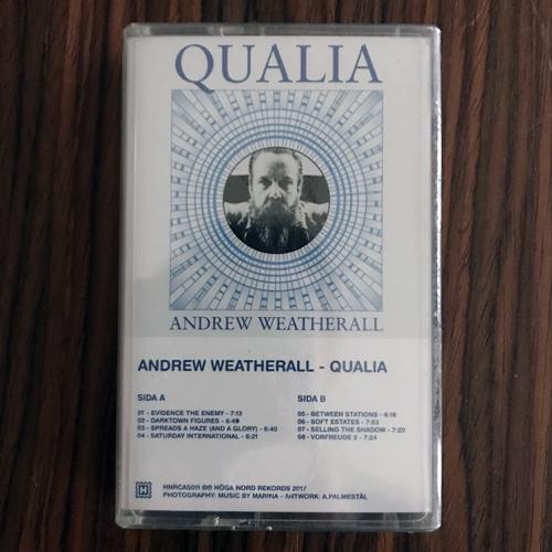 ANDREW WEATHERALL Qualia (Höga Nord - Sweden original) (SS) TAPE