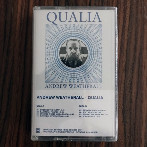 ANDREW WEATHERALL Qualia (Höga Nord - Sweden original) (SS) TAPE