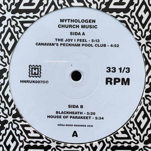 "MYTHOLOGEN Church Music (Höga Nord - Sweden original) (NEW) 12"""