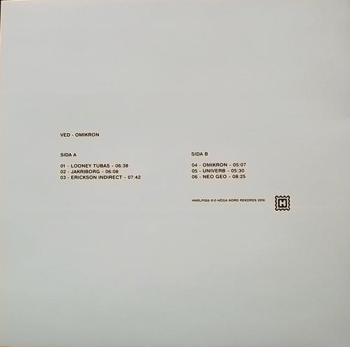VED Omikron (Höga Nord - Sweden original) (NEW) LP