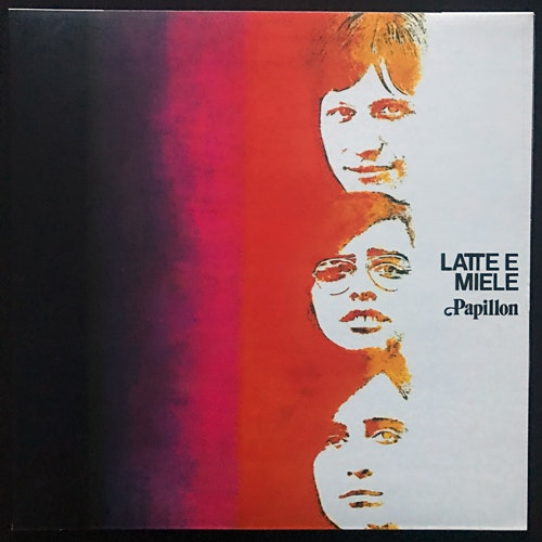 LATTE E MIELE Papillon (Red vinyl) (Polydor - South Korea reissue) (NM) LP