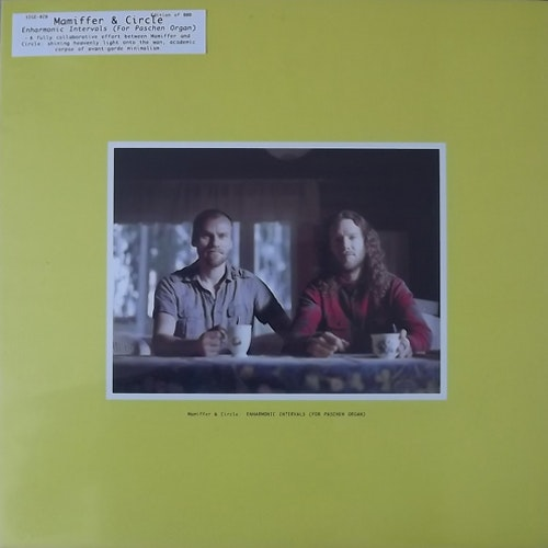 MAMIFFER & CIRCLE Enharmonic Intervals (For Paschen Organ) (Sige - USA original) (EX/M) 2LP