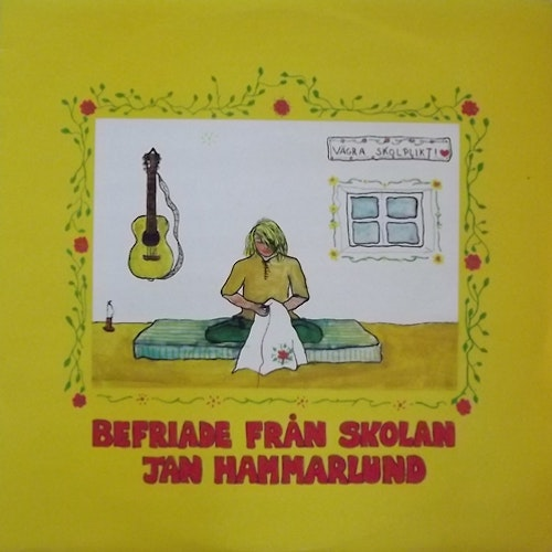JAN HAMMARLUND Befriade Från Skolan (Silence - Sweden 2nd press) (EX/VG+) LP