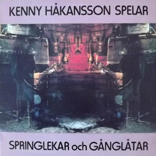 KENNY HÅKANSSON Springlekar och Gånglåtar (Silence - Sweden original) (EX) LP