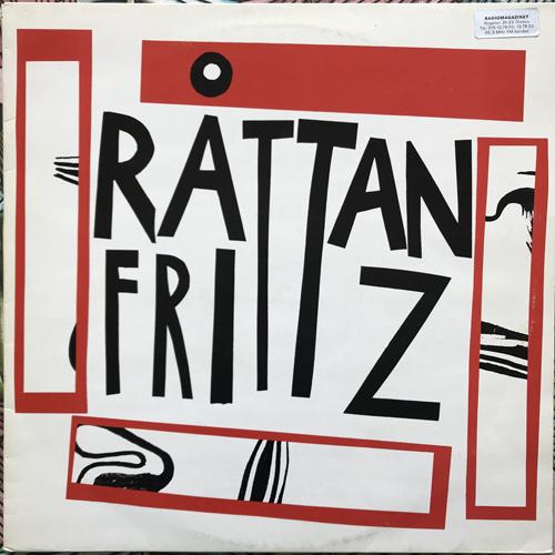 """RÅTTAN FRITTZ Råttan Frittz (Urspår - Sweden original) (VG+) 12"""""""