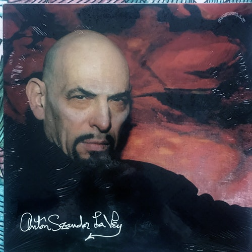 ANTON LAVEY Strange Music (Amarillo - USA original) (NM/EX) 10""