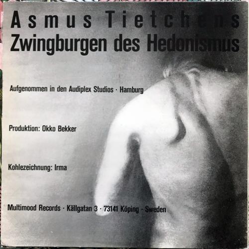 ASMUS TIETCHENS Zwingburgen Des Hedonismus (Clear vinyl) (Multimood - Sweden 2nd press) (VG/EX) LP