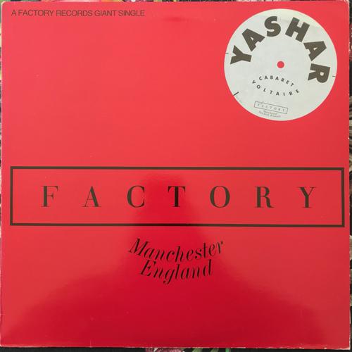 "CABARET VOLTAIRE Yashar (Factory - UK original) (VG+) 12"""