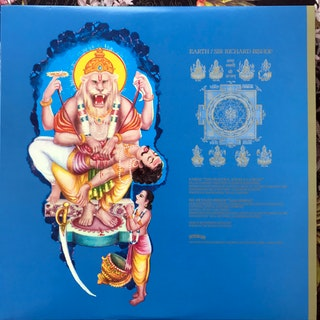 "EARTH/SIR RICHARD BISHOP The Peacock Angels Lament/Narasimha (Signed) (Southern Lord - USA original) (EX/VG+) 12"" EP"
