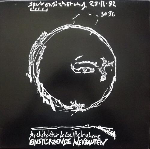 EINSTÜRZENDE NEUBAUTEN Architektur & Geißelnahme (No label - Germany unofficial release) (EX/NM) LP