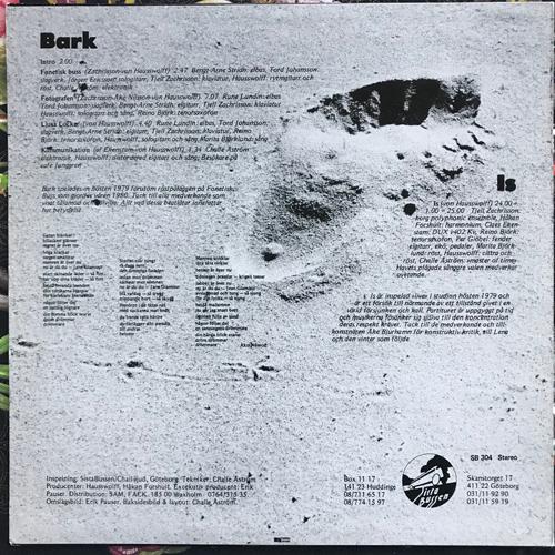 HAUSSWOLFF Bark & Is (Sista Bussen - Sweden original) (VG+) LP