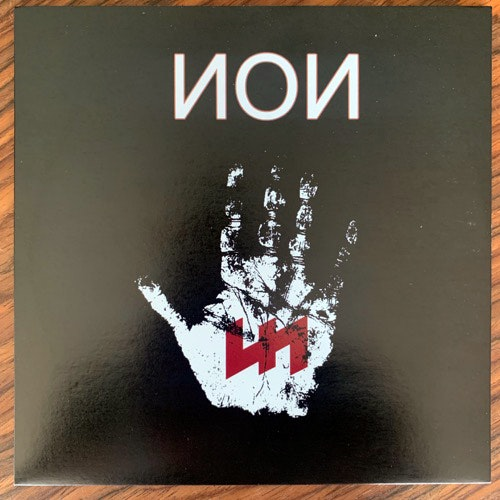 NON Total War (Red vinyl. With patch and sticker) (Triskele - USA original) (NM) 7""