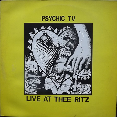 PSYCHIC TV Live At Thee Ritz (Temple - UK original) (VG-/VG) LP