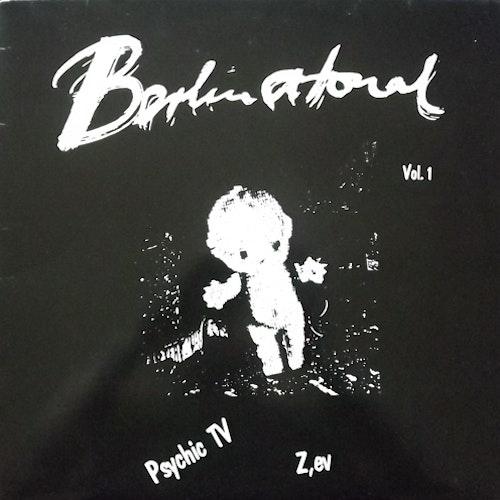 "PSYCHIC TV/Z'EV Berlin Atonal Vol. 1 (Signed by  Paul ""Grimsby"" Reeson) (Atonal - Germany original) (VG+/EX) LP"