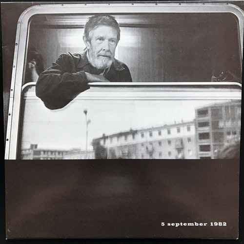 VARIOUS 5 September 1982 - A Tribute To John Cage (Fylkingen - Sweden original) (EX/NM) LP