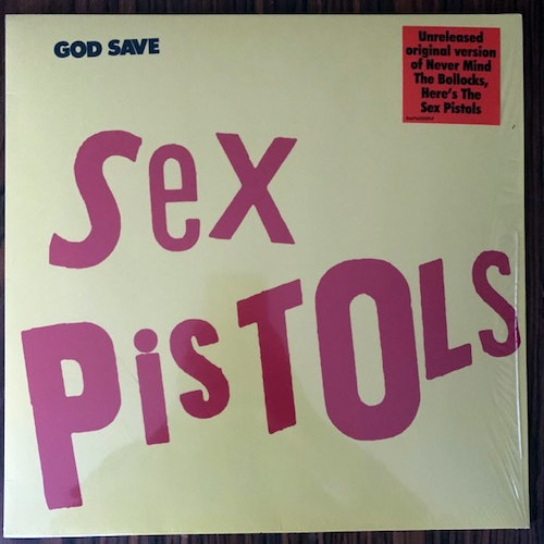 SEX PISTOLS God Save Sex Pistols (UMC - Europe original) (NM) LP