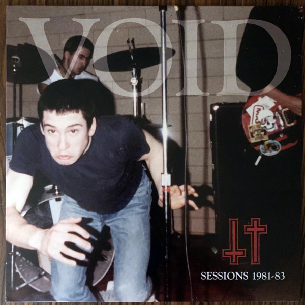 VOID Sessions 1981-83 (Dischord - USA original) (EX/NM) LP