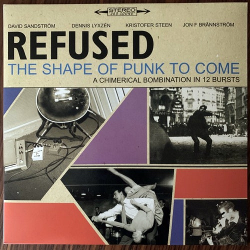 REFUSED The Shape Of Punk To Come - A Chimerical Bombination In 12 Bursts (Epitaph - Europe 2010 reissue) (EX/NM) 2LP